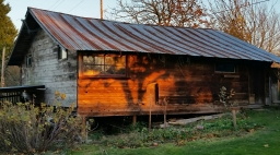 The old Barns of Sunset Avenue
