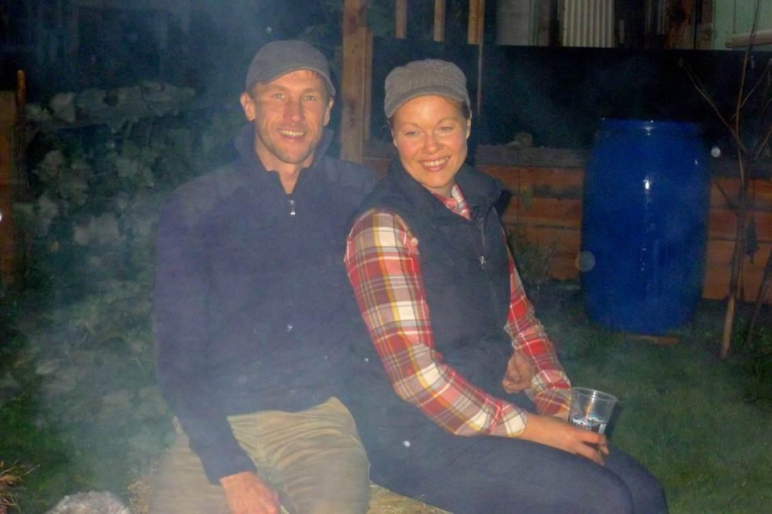 Farmer Josh and Farmer Gwen